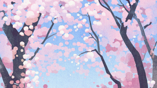papers.co-ba59-cute-siba-dog-animal-spring-illustration-art-pink-25-wallpaper.jpg
