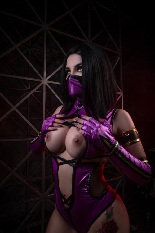 Cosplay Cosplayerotica Mileena Tagme Gonzoxxx 1