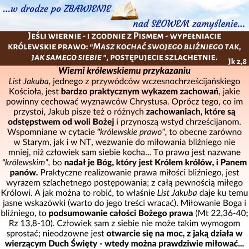 161. Jk 2,8