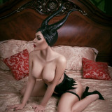 Kalinka-Fox-Naked-Maleficent-1