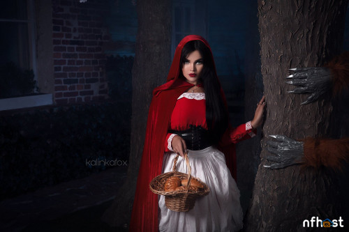 Little Red Riding Hood by Kalinka Fox1