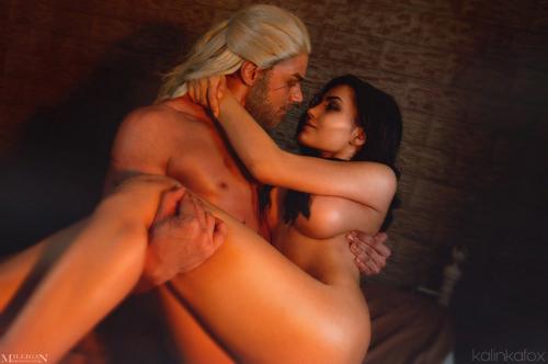 Naked Kalinka Fox Witcher 2