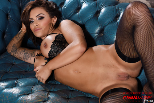 Gemma Massey Stripping From Her Tight Dress Getting Naked (161)