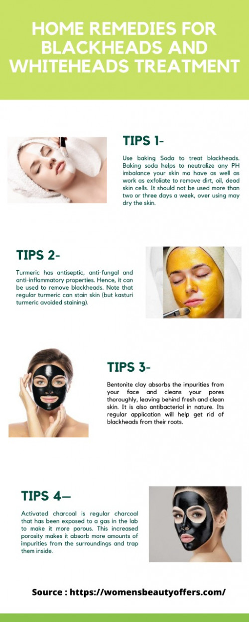 Blackheads are mild type of acne that usually forms on the face. No matter how well you take care of your skin, they just show up sometimes. https://womensbeautyoffers.com/best-4-tips-to-remove-blackheads-from-your-nose-face/