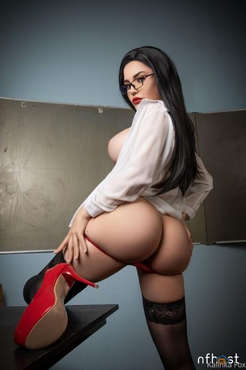 Kalinka Fox Sexy Teacher (1)