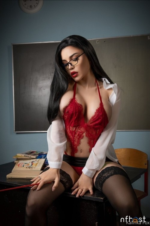 Kalinka Fox Sexy Teacher (4)