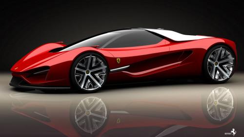 155 1557992 ferrari red concept sport car hd wallpaper really