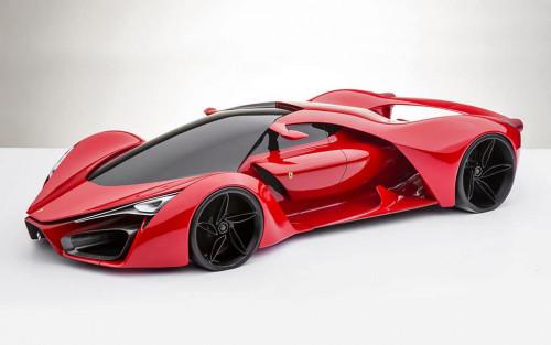 Ferrari F80 Supercar Concept 1