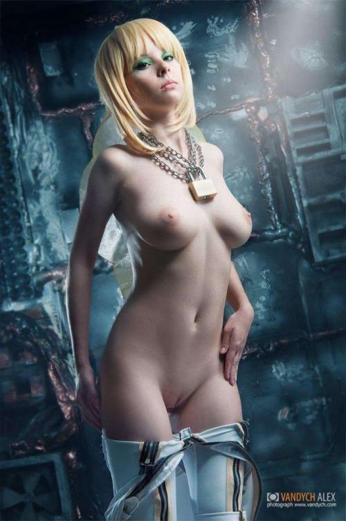 NudeCosplayGirls.com Helly Valentine nude Saber Bride 14 680x1024