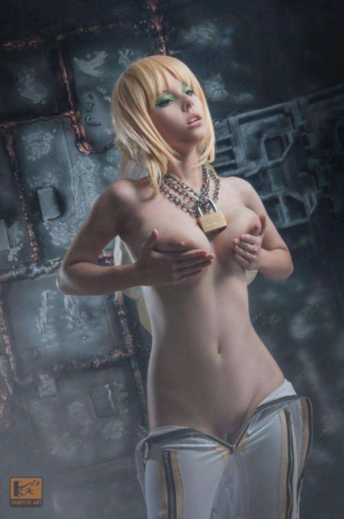 NudeCosplayGirls.com Helly Valentine nude Saber Bride 23 679x1024
